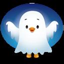 Pingüino Halloween - Fantasma
