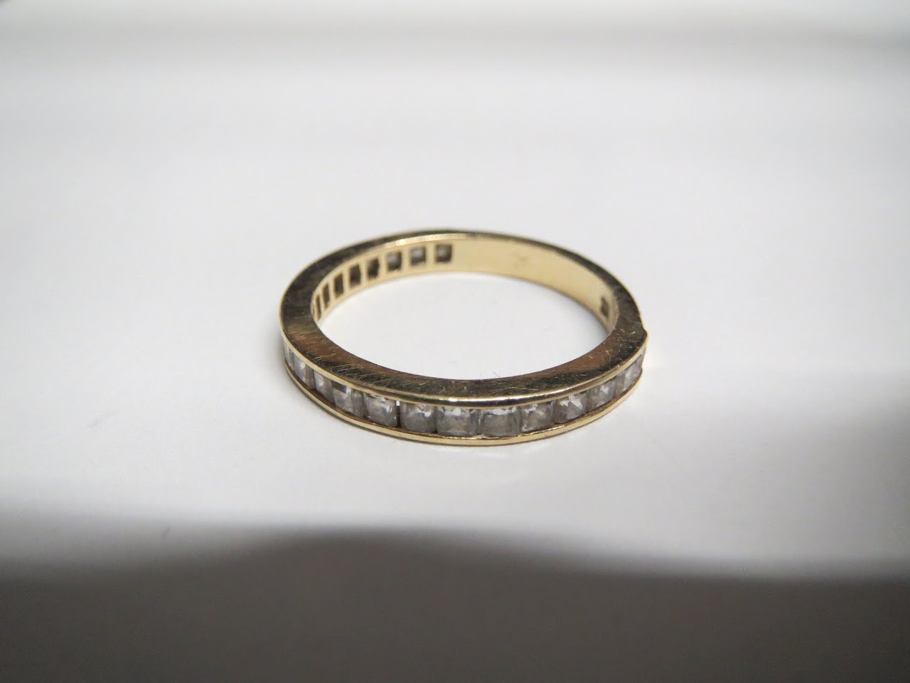 14kt Gold and Stone Ring