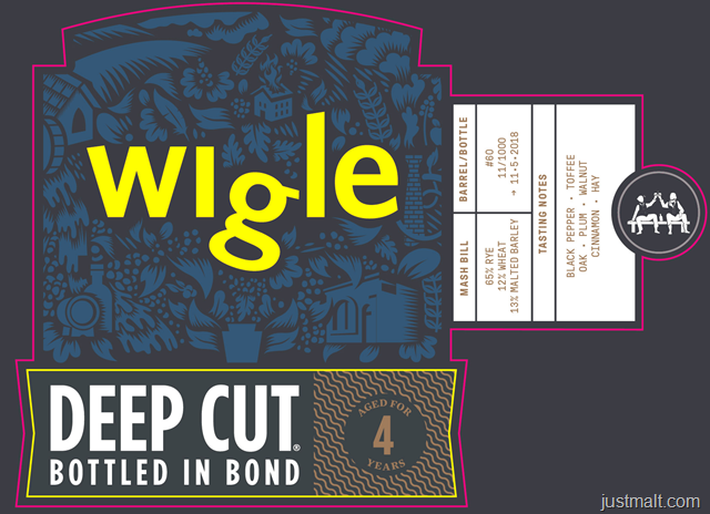 Pittsburgh Distilling Wigle Deep Cut
