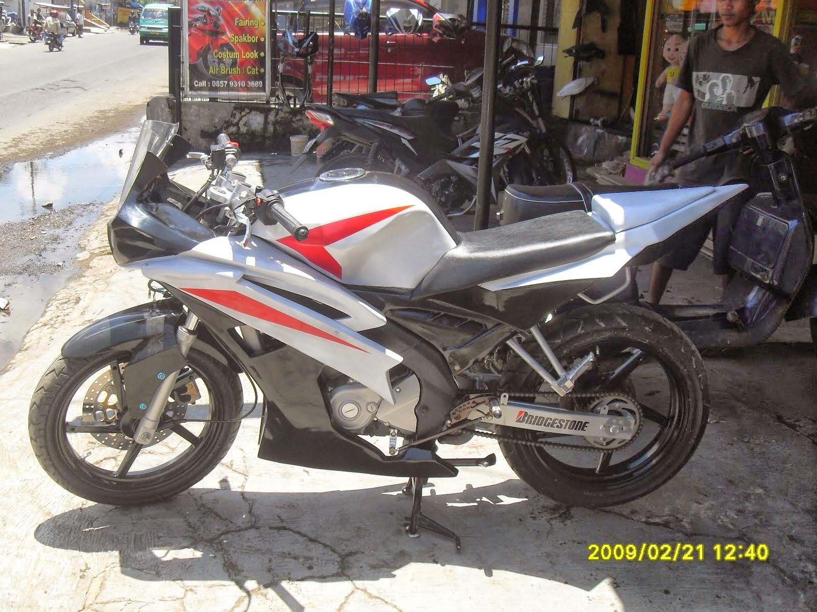 Modif Yamaha Byson Mirip Ninja