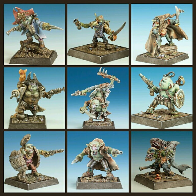 Goblins Piratas Freebooter Miniatures