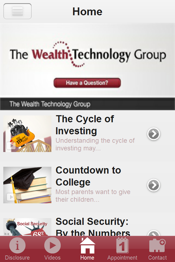 Wealth Technology Group- screenshot