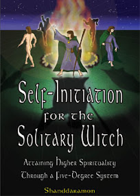 Cover of Shanddaramon's Book Self Initiation For The Solitary Witch