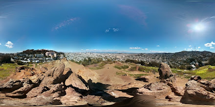 Photo: San Francisco from Corona Heights Park