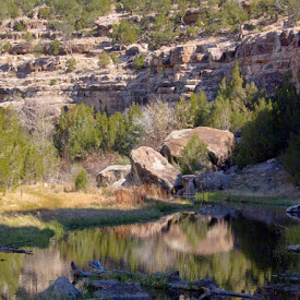 Bluewater Canyon & Lake State Park, NM
