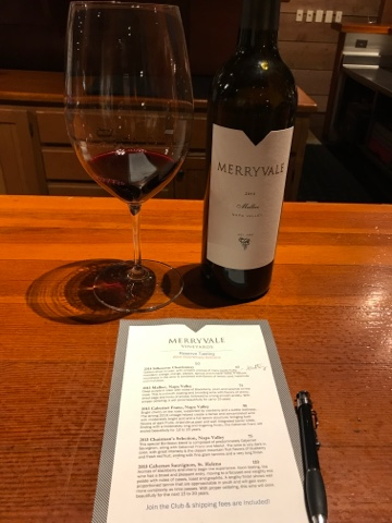 Merryvale Vineyards Napa Valley Malbec 2013