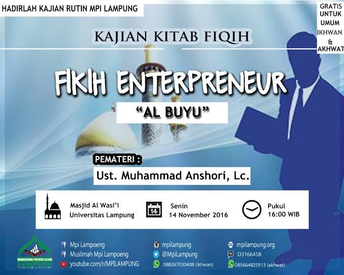 Resume Kantin Fiqih Enterpreneur