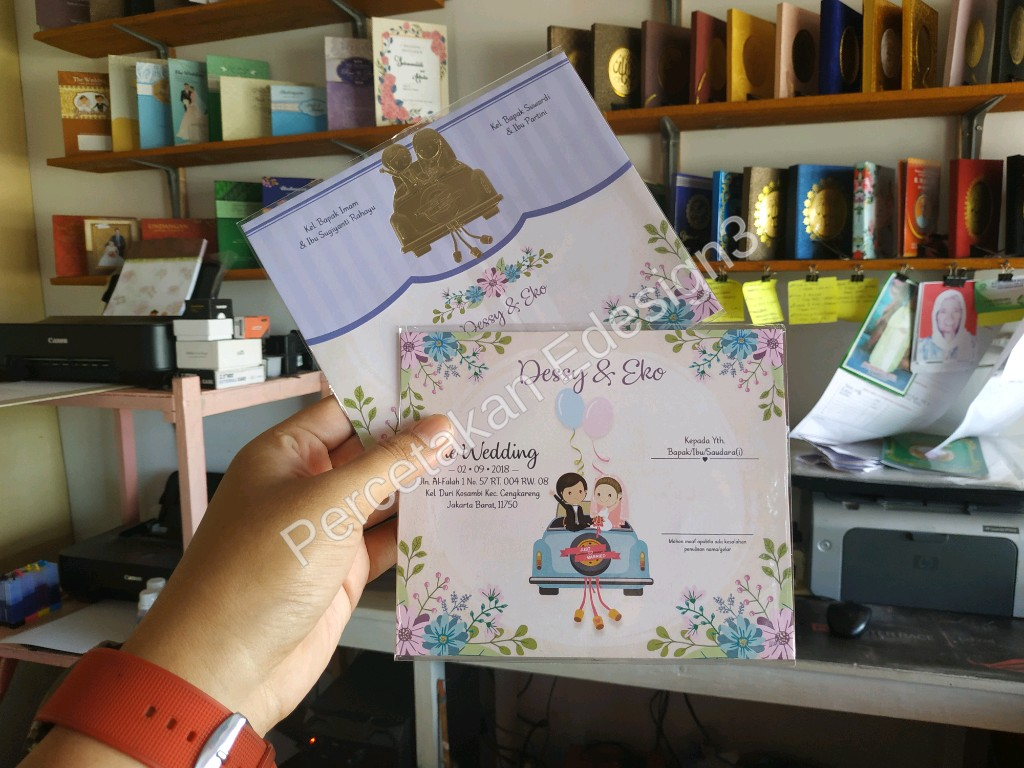 Undangan Pernikahan Dessy Dan Eko Di Cengkareng Jakarta Barat  A 02