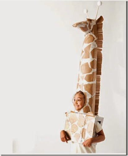 cuello de jirafa disfraz