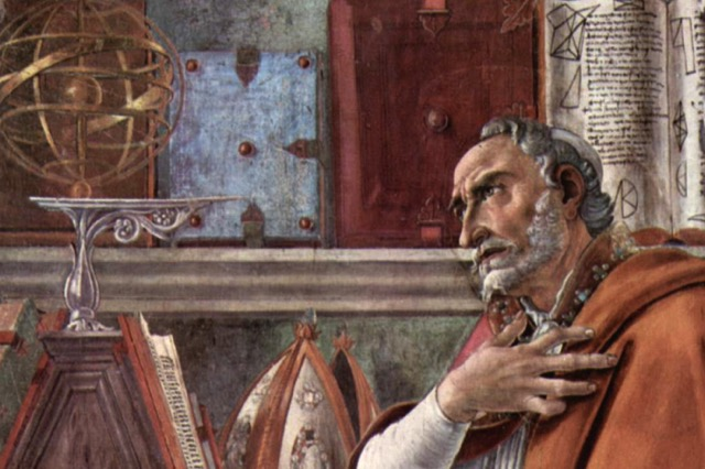 St augustine of hippo sandro botticelli detail featured w740x493