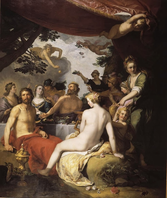 Abraham Bloemaert - The feast of the gods at the wedding of Peleus and Thetis