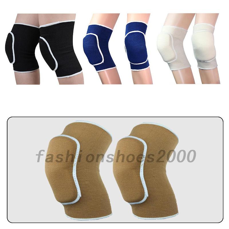 1 paar kinder volleyball handball kniesch tzer knieschoner kniebandage schutzen ebay. Black Bedroom Furniture Sets. Home Design Ideas