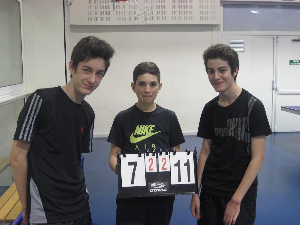 2015-2016 - Tournoi jeunes - Tour 1