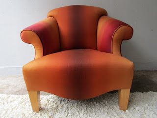 Ombre Upholstered Club Chair #2
