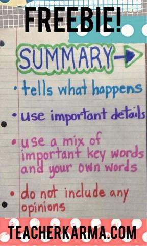 Reading comprehension resources