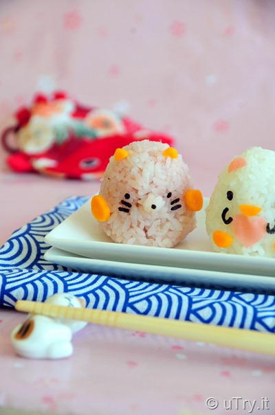 Sumikko Gurashi Sushi Rice Balls 可愛壽司飯糰   http://uTry.it