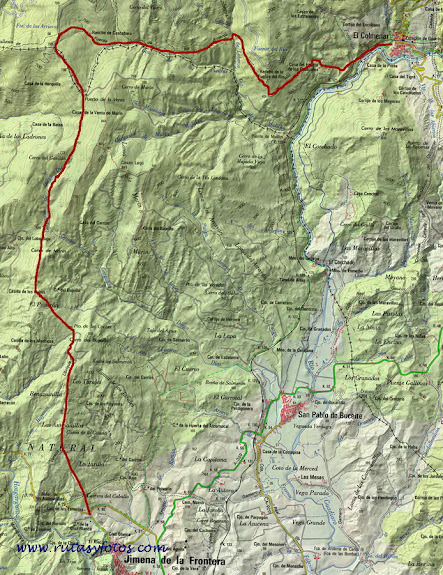 El Colmenar - Jimena de la Frontera