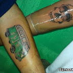 arm green van - tattoos ideas