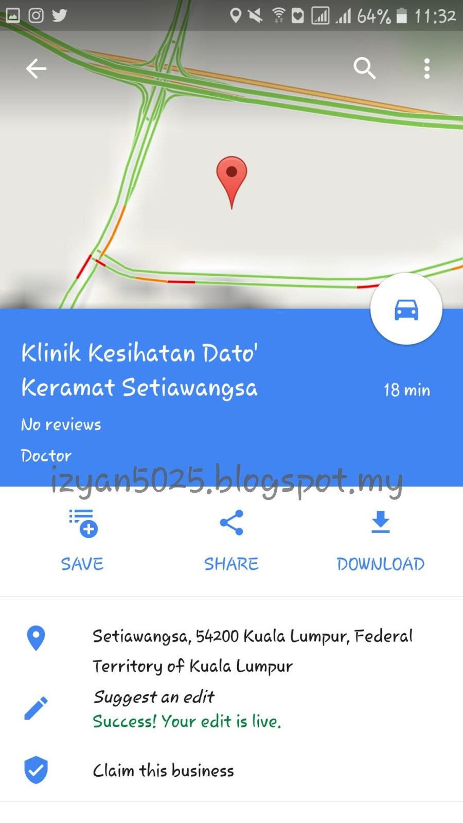 Tambah Lokasi Tempat Dalam Google Maps Dunia Blog Iq
