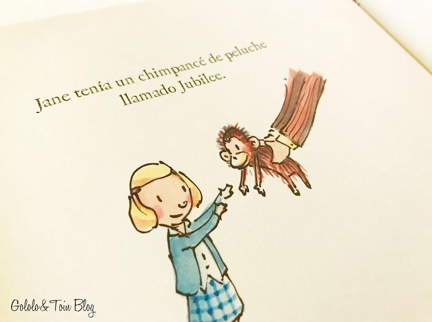Cuento sobre la vida de Jane Goodall