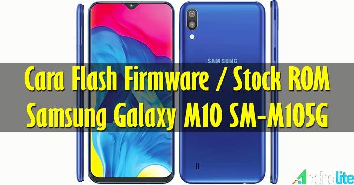 Cara Flash Samsung Galaxy M10 SM-M105G