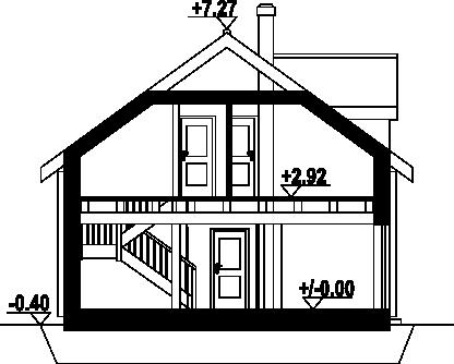 Osiek 301dw - Przekrój