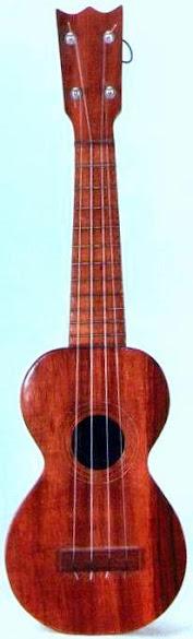 Hawaiian Soprano Ukulele by Singers Manufacturing Co.