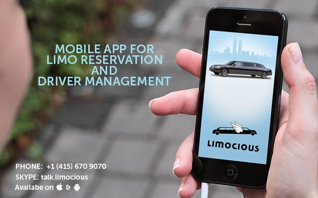 limocious Mobile App fro Reservation and Driver Management
