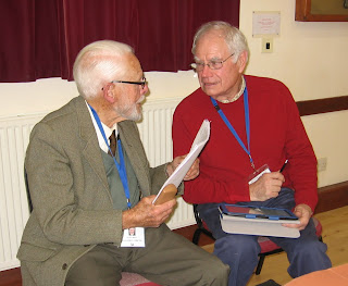 Andy Miller, our chairman interviews Geoff White about his plans for a Memory Support Group which will start in the New Year. Nov 2013