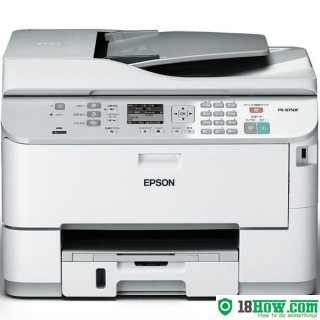 How to reset flashing lights for Epson PX-B750F printer