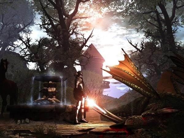 Magick Landscape Of Dream 9, Magical Landscapes 4