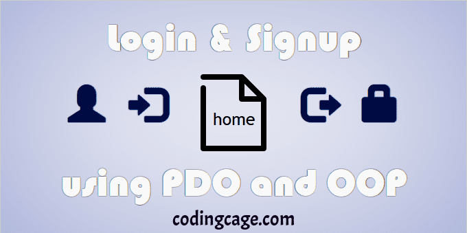 PHP Login and Registration Script with PDO and OOP