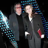 WWW.ENTSIMAGES.COM -  Bill Wyman and daughter  Jessica Wyman  at    Liberatum Annual London Honour Dinner and Screening at W Hotel, 10 Wardour Street, London, April 10th 2013                                                     Photo Mobis Photos/OIC 0203 174 1069