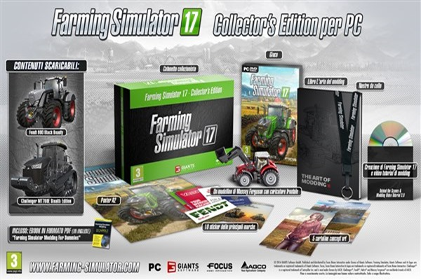 Farming simulator 2017 Collector Edition