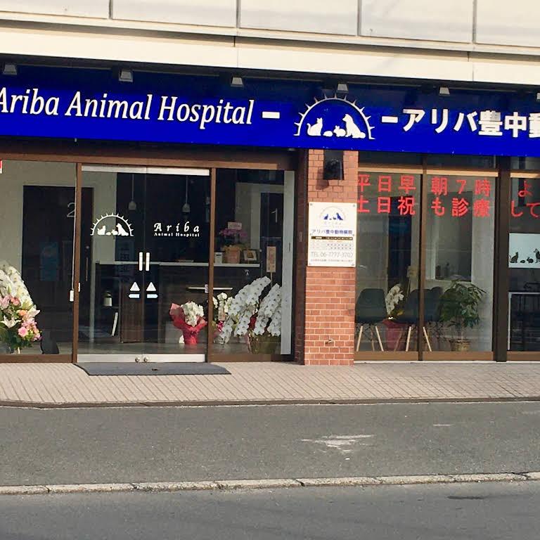 アリバ 豊中 動物 病院