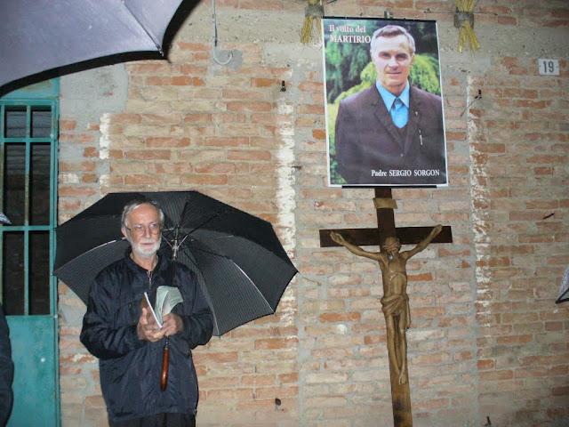P. Italo Padovan testimonia sul confratello p. Sergio Sorgon, presso la sua casa natale di Fiorentina