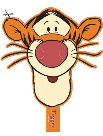 mascara winnie pooh y tigger