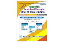 Phenom's Faculty Based Chapterwise Recent Bank Solution- PDF Download