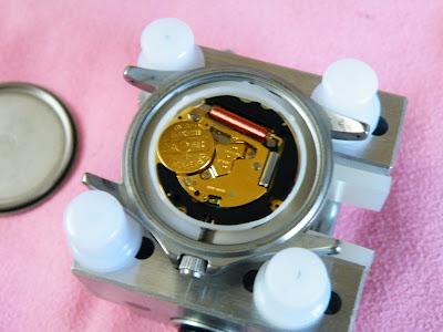 SWISS MILITARY ML-19電池交換
