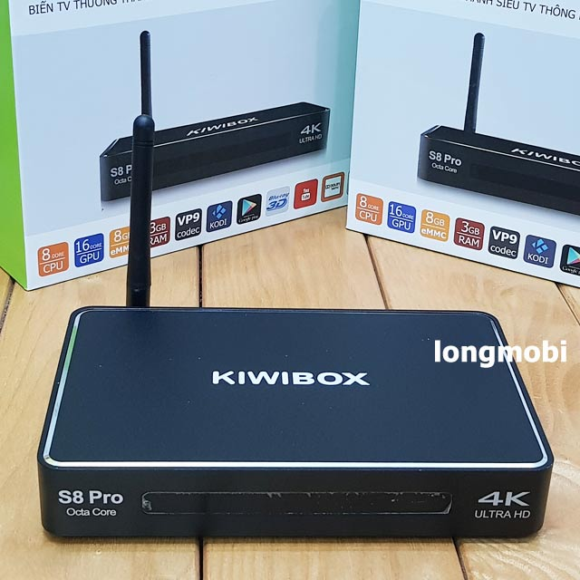 android tv box kiwi s8 pro