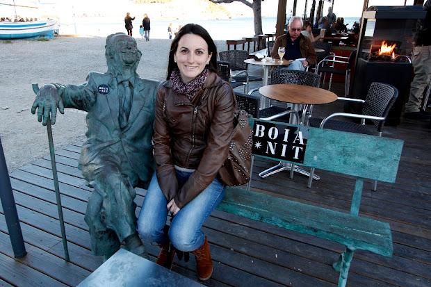 Lena junto a Dalí