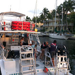 rainbow dive boat in Key Largo in Key Largo, Florida, United States