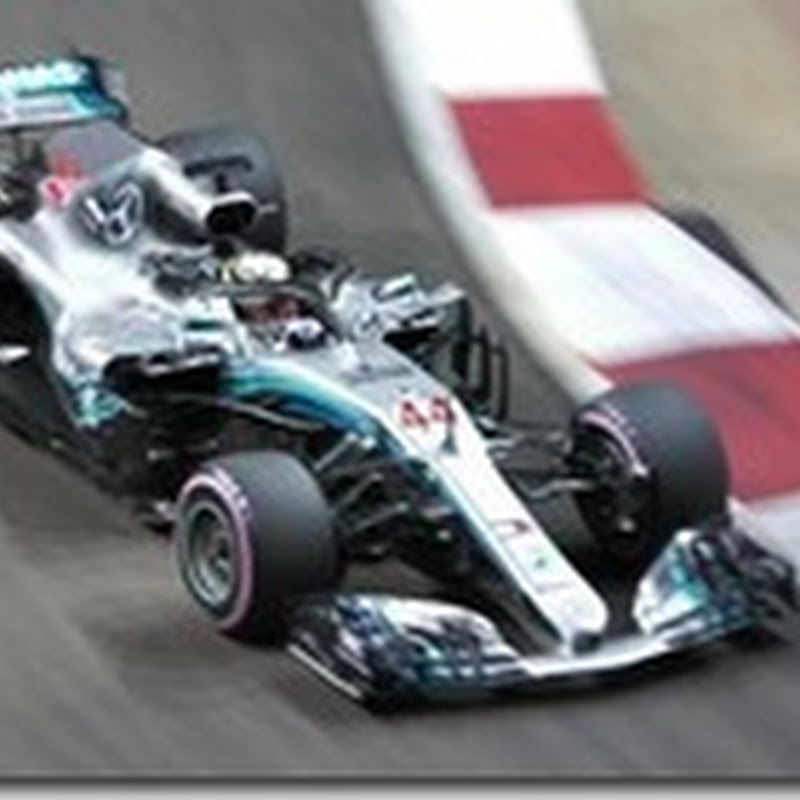 GP di Singapore: Hamilton in pole. Male la Ferrari