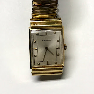 Hamilton 18K Gold Watch