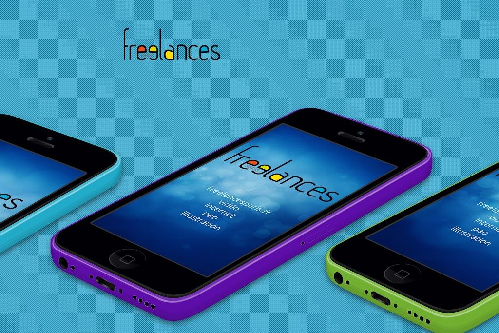 conception images capture écran pour smartphones iPhone 5C sublimer présentation responsive web design // paris +33 06 8528 9977