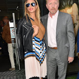 OIC - ENTSIMAGES.COM - Lilly Becker and Boris Becker at the  Mike Dargas - private view at Opera Gallery in London  5th July 2016 Photo Mobis Photos/OIC 0203 174 1069
