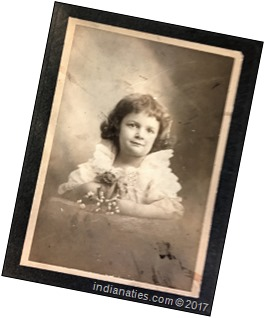 Edith Marie Weber, born 25 March 1896, Indianapolis, IN