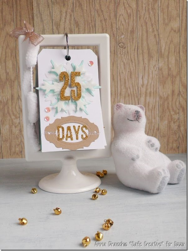 Christmas Countdown-Sizzix-big shot-diecutting-ikea frame-tag-scrapbooking (1)