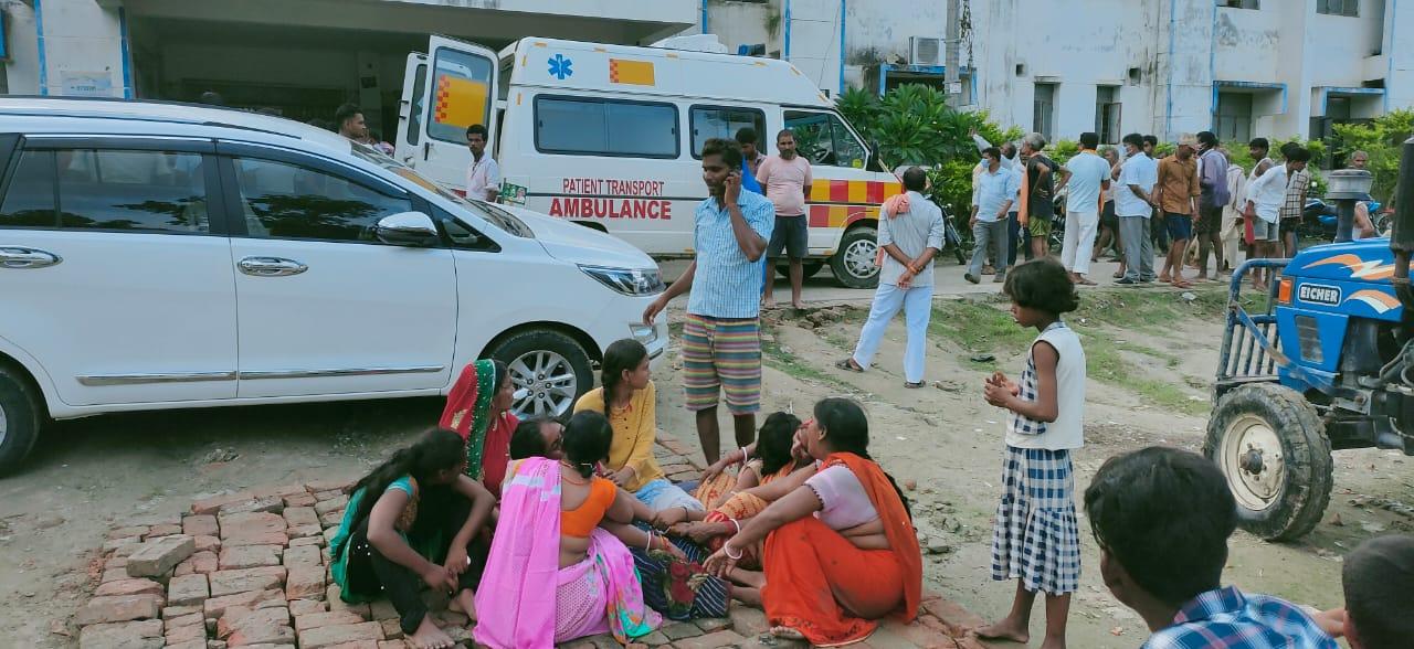छपरा के  मिर्जापुर में डूबने से तीन युवक की मौत, गाँव मे पसरा मातम