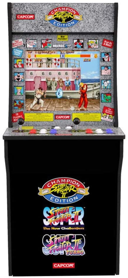 Maquina Arcade Street Fighter II: Champion Edition de Arcade1UP - Review